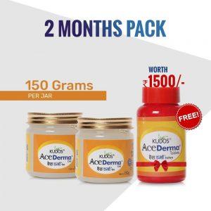 Ace Derma Kit (2 Months Pack)- Anti-Fungal Kit