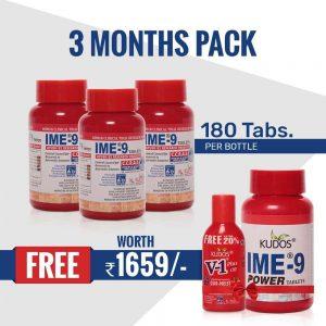 IME-9 Kit (3 Months Pack)