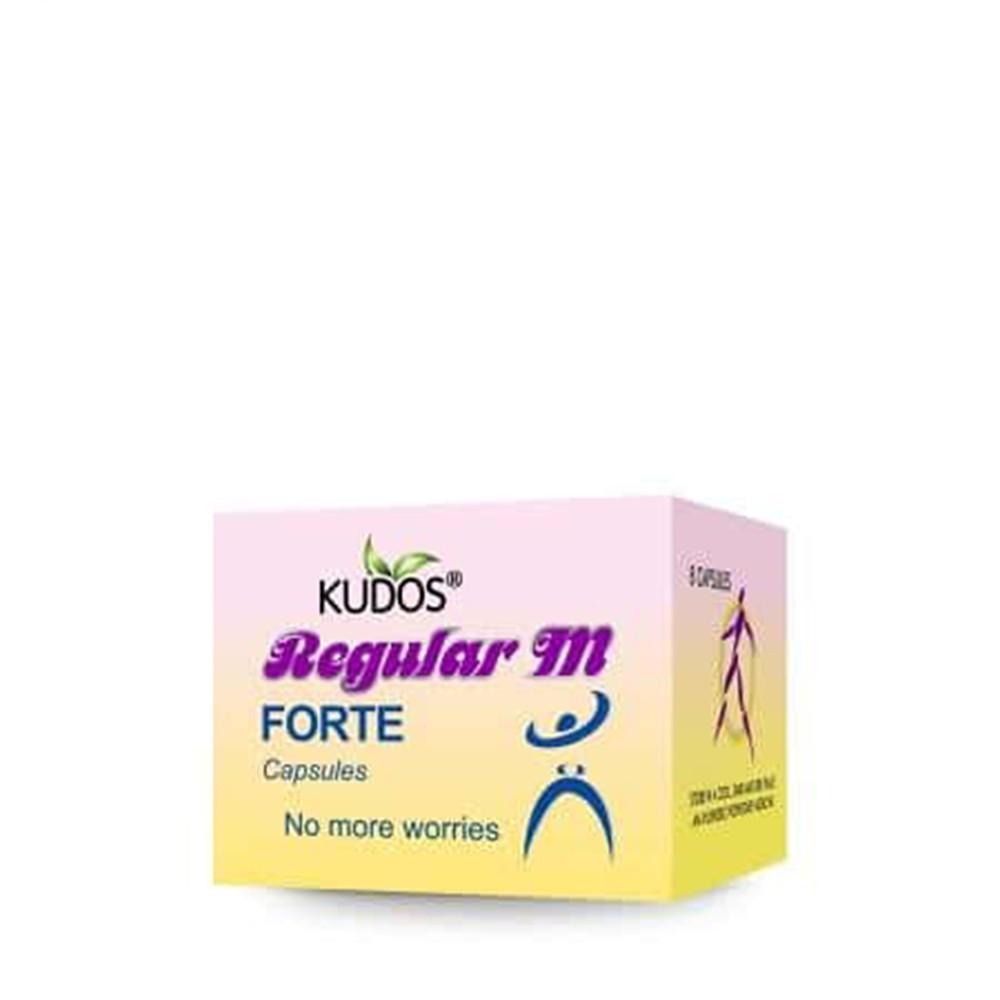 Kudos Regular M Forte Capsules